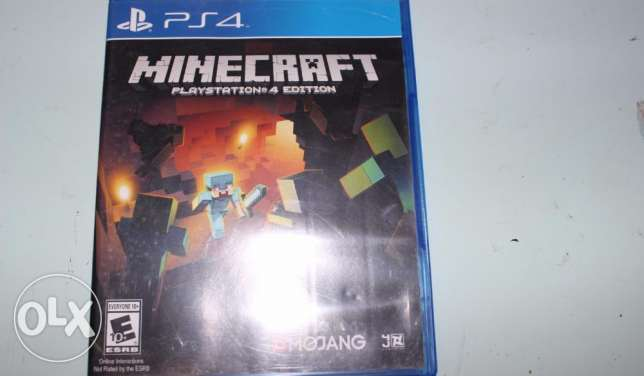 MineCraft & Fifa 15 Arabic PS4 Games For Sell