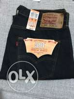New Original Levi's 501 Jeans W36 L32 Blue-Black color from USA
