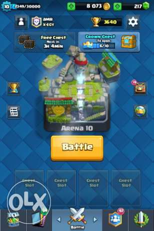 Clash royale and clash of clans account