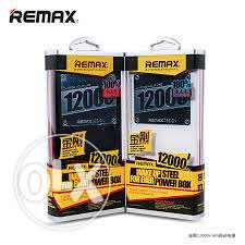 Power box remax 12000 mAh original