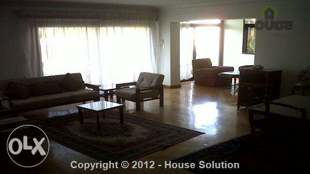 Furnished Apartment For Rent In Maadi With An Amazing View القاهره -  1