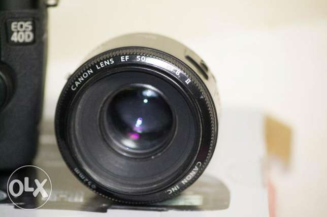 canon lens 50mm f:1.8 +cap only