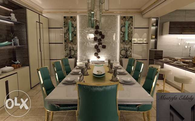 dining table neoclassic style
