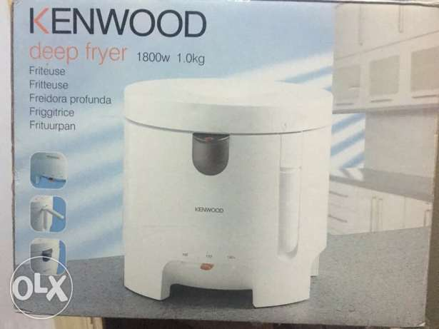 Kenwood Fryer 1800W used only once! قلاية كينوود