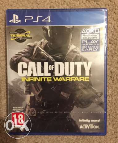 NEW Sealed Call of Duty Infinite Warefare PS4