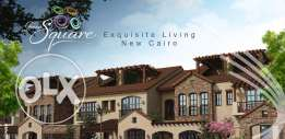 green square town house, land 350, bua 260 resale with installments