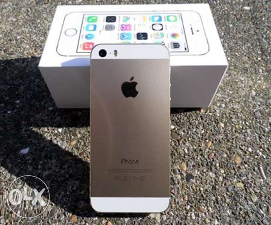 Iphone 5s Gold is new International USA وسط القاهرة -  1