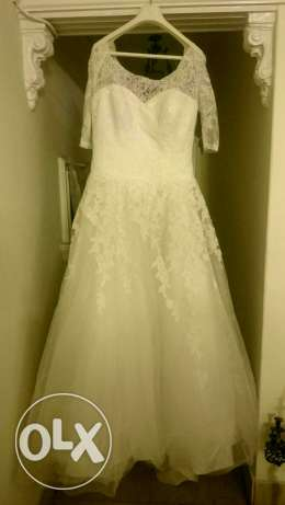 Pronovias size 48 fits 50 original dress perfect condition as new