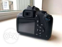 Canon EOS 1200D with 18 55mm iii