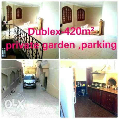 Dublex for sale 'parking-garden' fully finished