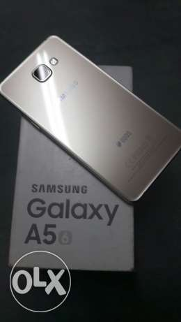 Samsung a5 //16Gb//gold الزيتون -  2