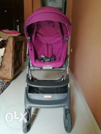 Stokke scoot stroller - perfect condition - with all accessories