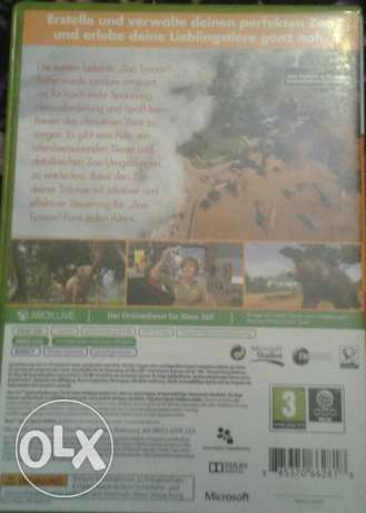 Zoo tycon oryginal cd for xbox مدينة نصر -  2