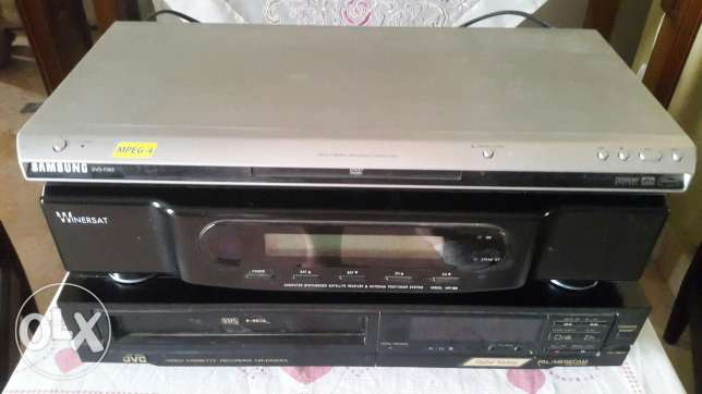 Dvd video receiver wth dish 2.4