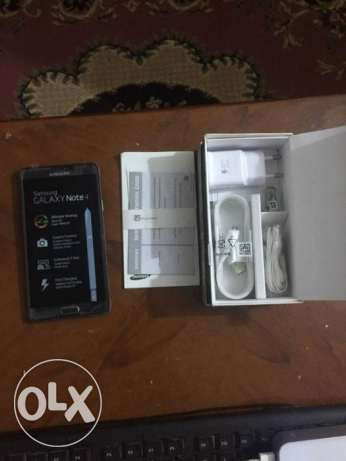 samsung galaxy note 4 32 giga 4G new ميت غمر -  3