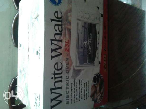 Oven white whale