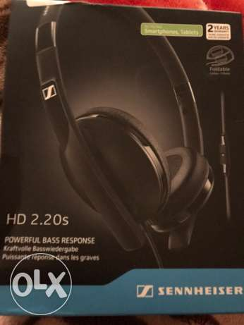 Sennheiser HD 2.20s Ear Headphones