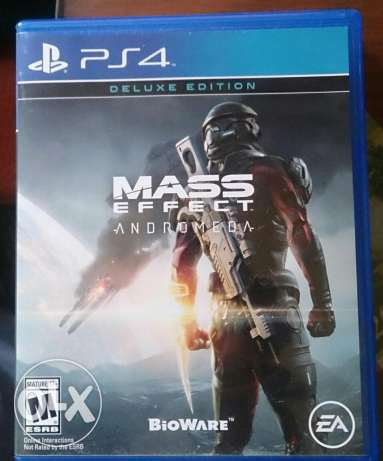 (region ALL) Mass effect andromida for ps4