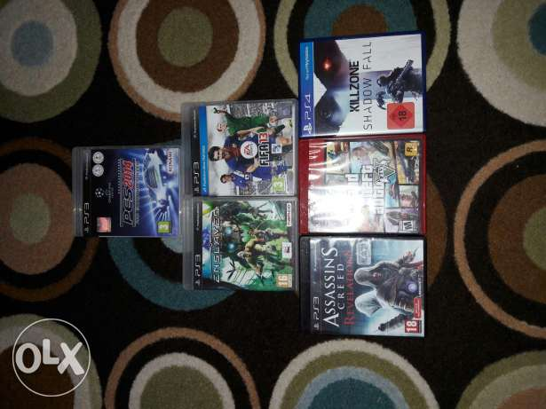 Ps3 and ps4 cds