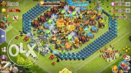Castle Clash Accounts: حسابات كاستل كلاش