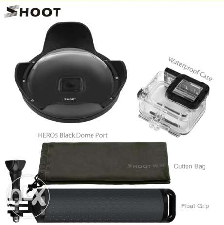 SHOOT Dome Port For GoPro Hero 5