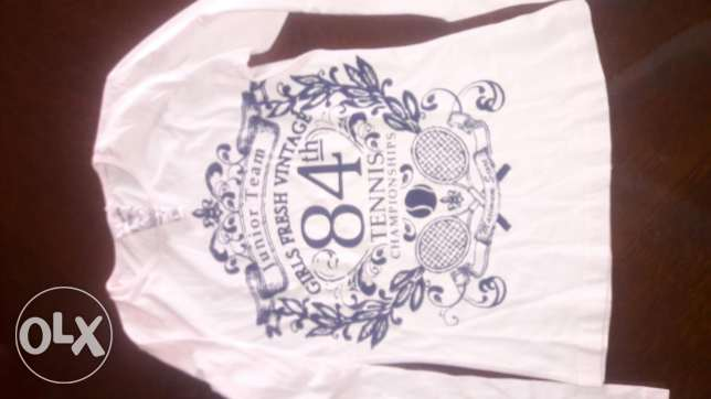 Long sleeve T-shirt size 10years