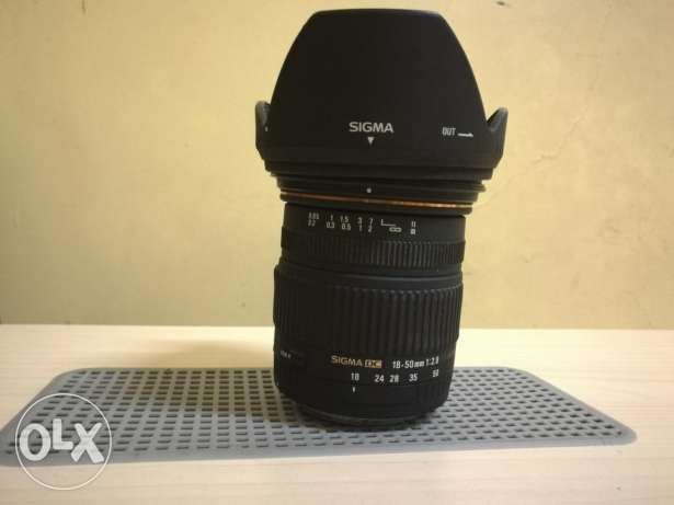Sigma 18-50 f2.8 for canon