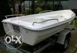 Boat DELFIN 390 (Germany/ Poland), new, plastic