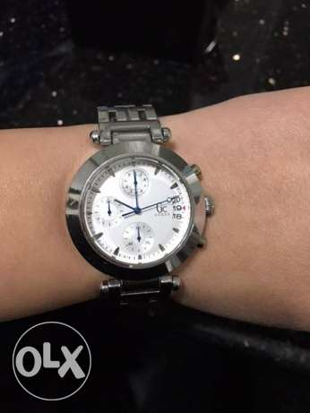 Guess collection silver watch
