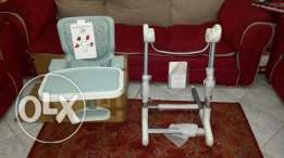 Brand new bebe confort Keyo stand with feeding chair.