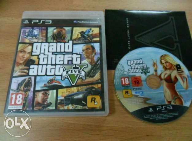 GTA V PS3 + Map