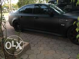Original Bmw M5 2006, Black Matte, Good condition