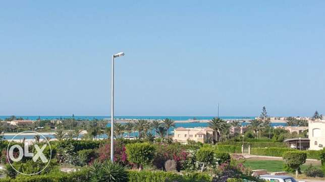 Sea View in Marina 5 chalet Duplex for Rent