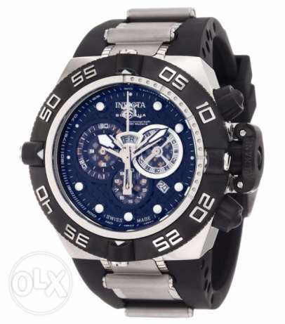 Invicta Men's 6564 Subaqua Noma IV Stainless Steel Watch With Black Po