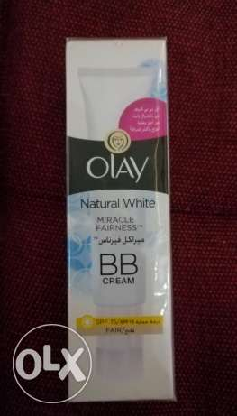 Olay BB cream (fair) كريم اولاى ميراكل وايتنس