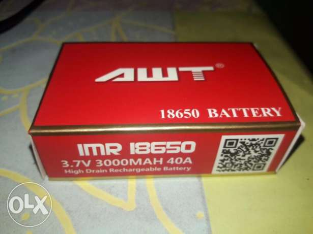 AWT Red Vape Battery original 2 vaping Batteries