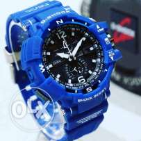 Blue G shock watch