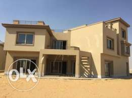 Standalone for sale At PalmHills katameya 1 low down payment
