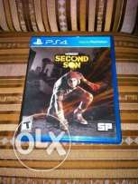 infamous 2nd son like new 1 week