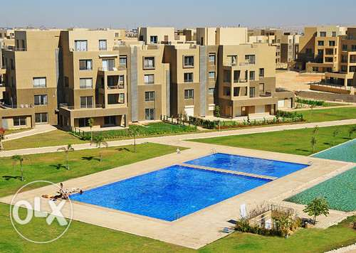 Typical Duplex for sale in Palm Parks208sqm lake& pool view fully fin. 6 أكتوبر -  1