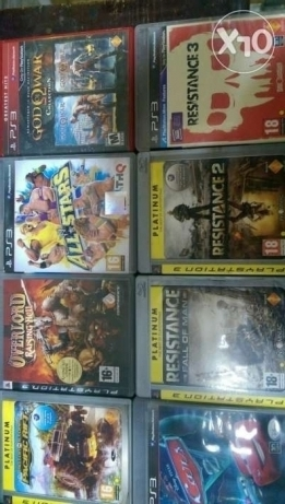 Playstation 3,4 and PC CDs