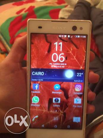 SONY XPERIA C3 White Like New condition