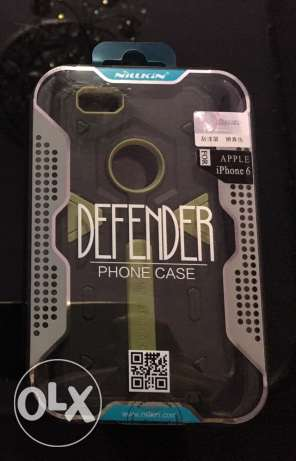 ايفون ٦و٦s كڤر نيلكين مضاد للصدمات ٢*١ iphone 6/6sNillkin Defender 2 المنصورة -  1