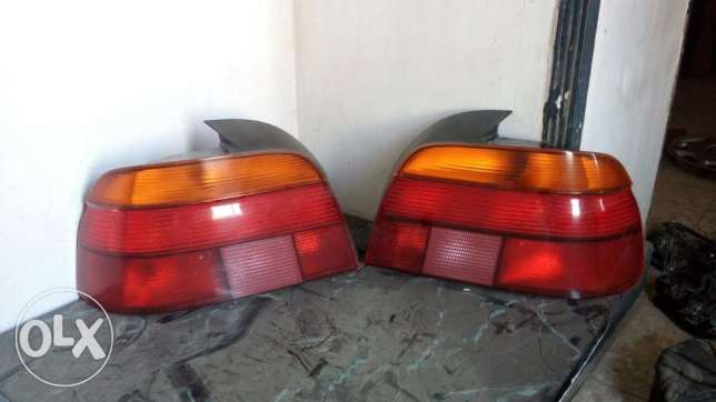 Back lanterns orignal Bmw E39 وسط القاهرة -  2