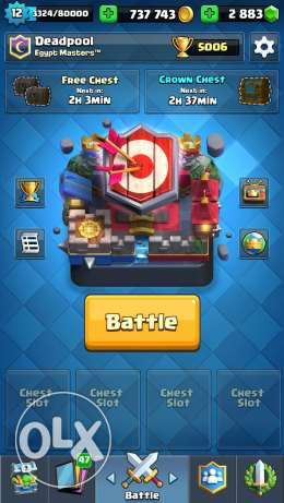 Level 12 Account for Clash Royale