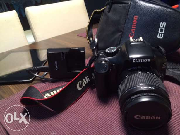 Canon 1100D, excellent condition التجمع الخامس -  1