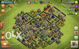 Th9 max all buildings and troops