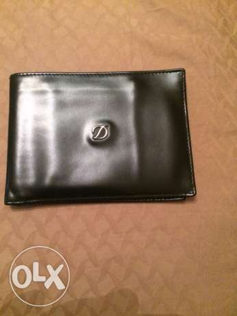 Dupont original leather wallet