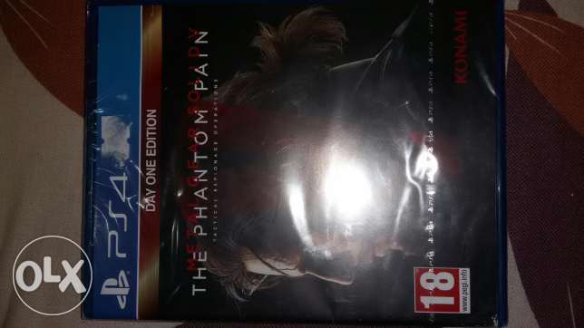 meral gear solid v: the phantom pain for ps4