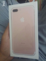 Iphone 7+ 128 rose gold new
